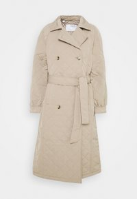 Selected Femme - SLFNINNA QUILTED  - Trenchcoat - silver mink - 6