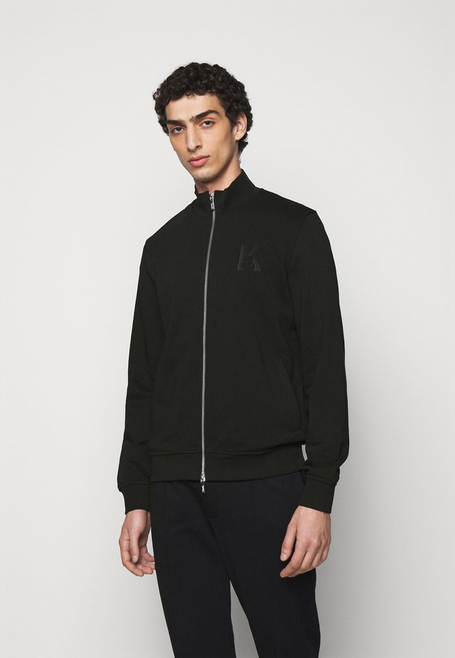 ZIP JACKET - Zip-up hoodie - black