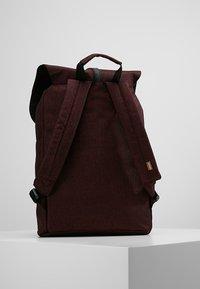 Spiral Bags - TRIBECA - Batoh - crosshatch burgundy - 2