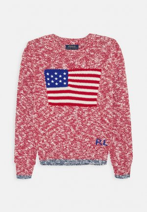 RAGG FLAG - Jumper - red