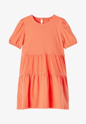 Day dress - persimmon