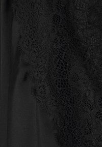 Hunkemöller - KIMONO  SLEEVE INSERT - Dressing gown - black - 6