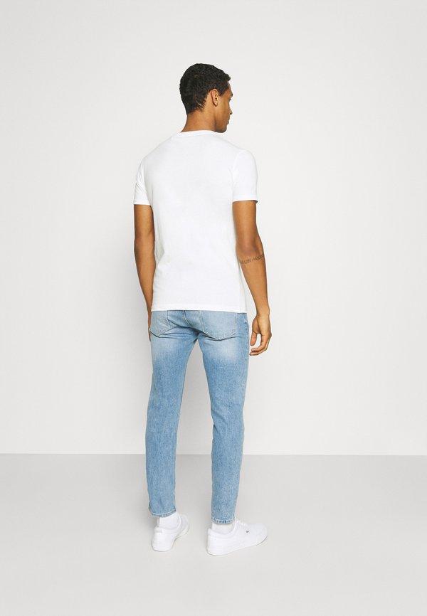 Pepe Jeans RAURY - T-shirt z nadrukiem - dark chicle/biały Odzież Męska VGNZ