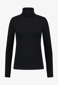 Anna Field - BASIC - Langærmede T-shirts - black - 3