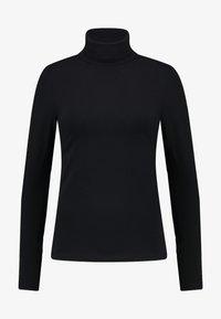 BASIC - Long sleeved top - black