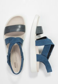 ECCO - FLOWT - Walking sandals - marine/true navy - 3