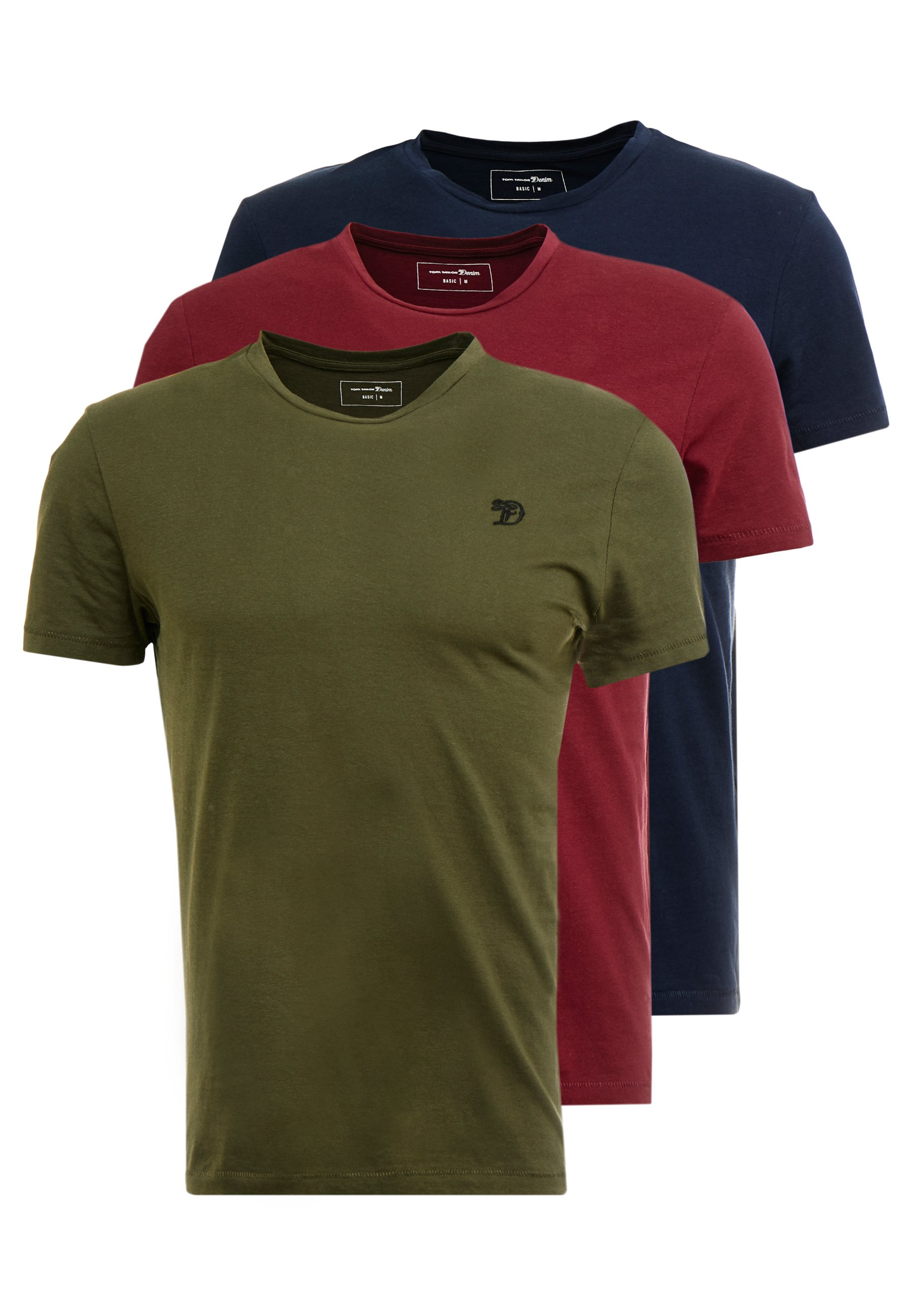 Men PACKAGING 3 PACK - Basic T-shirt