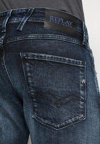Replay - ANBASS BIO - Slim fit jeans - dark blue - 6