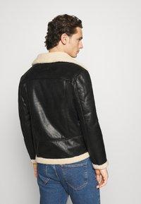 Sixth June - AVIATOR JACKET - Faux leather jacket - black - 2