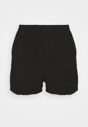 SHIRRED WAIST - Shorts - black