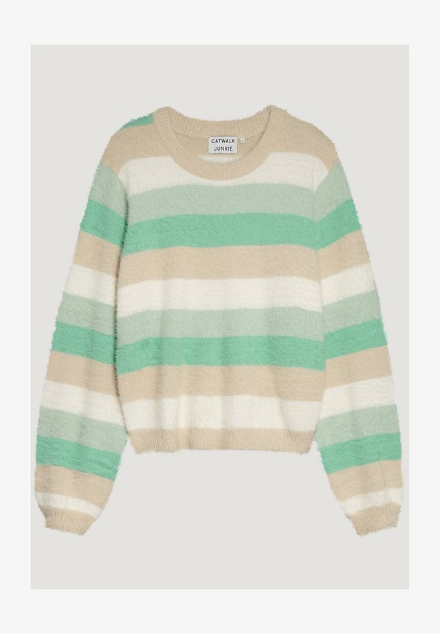 SPRING STRIPES - Jumper - cascade