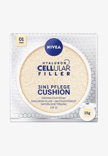 HYALURON CELLULAR FILLER 3 IN 1 CARE CUSHION - Toner - light 01