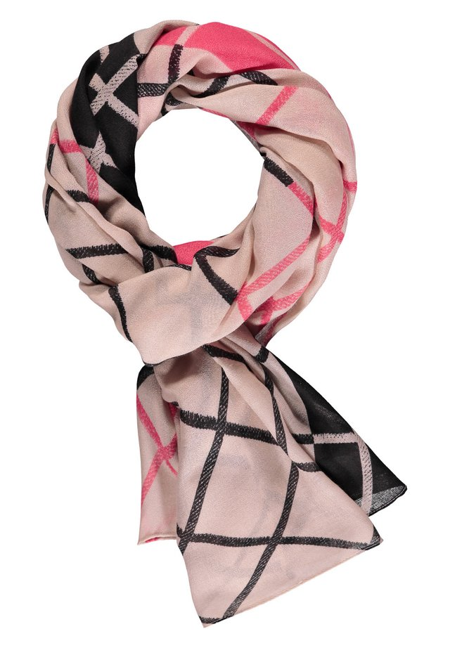 MIT KAROPATCH - Scarf - spiced coral/ dusty pink/ ecru