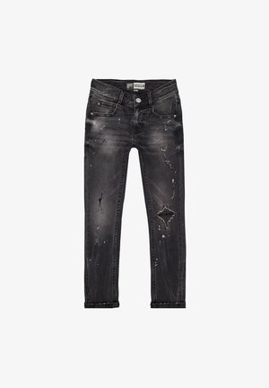 TOKYO CRAFTED - Slim fit jeans - black stone