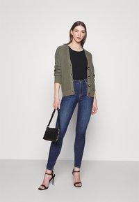 Lee - SCARLETT HIGH - Jeans Skinny Fit - mid used - 1