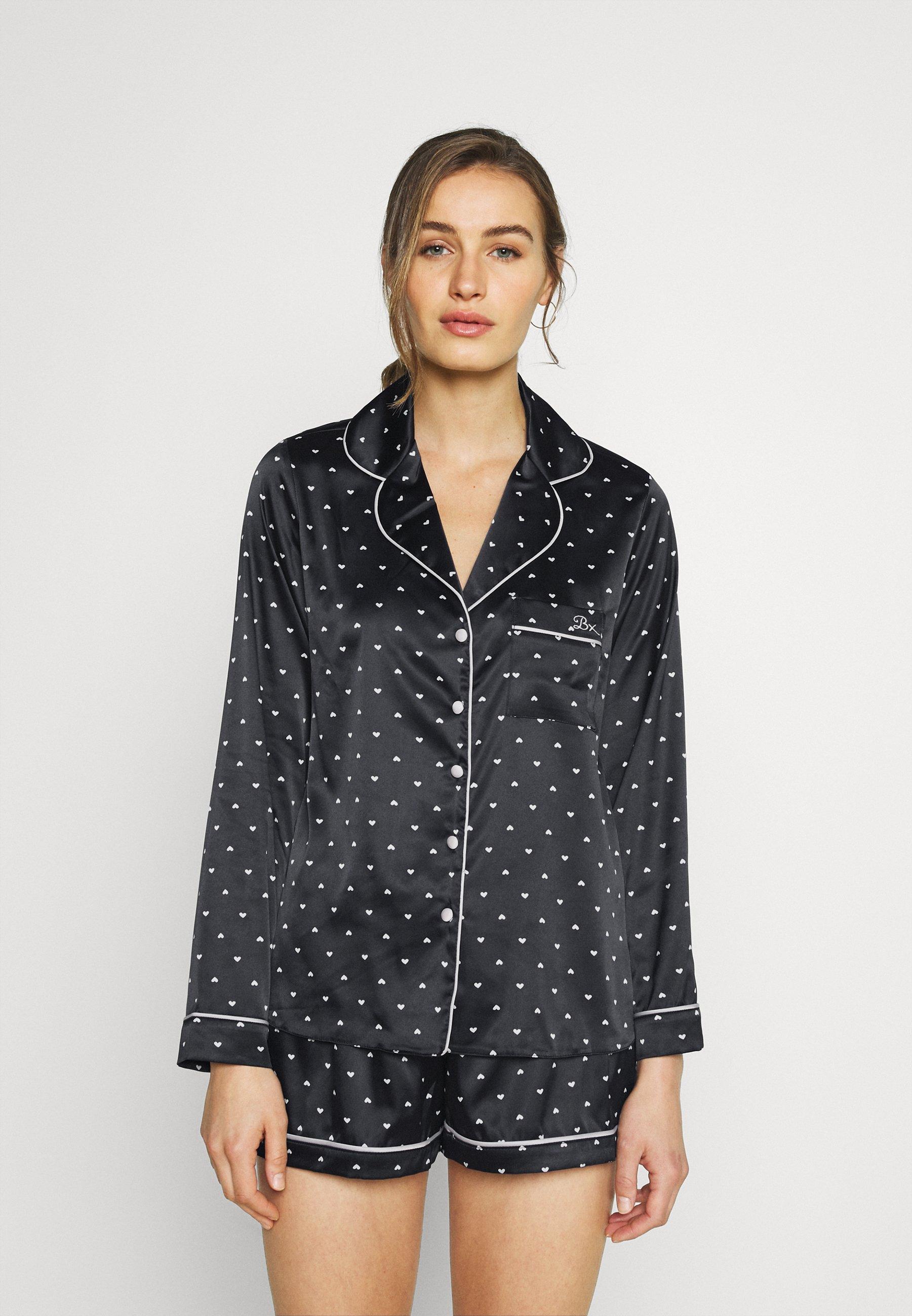 Damen MINI HEART REVERE SHORT - Pyjama