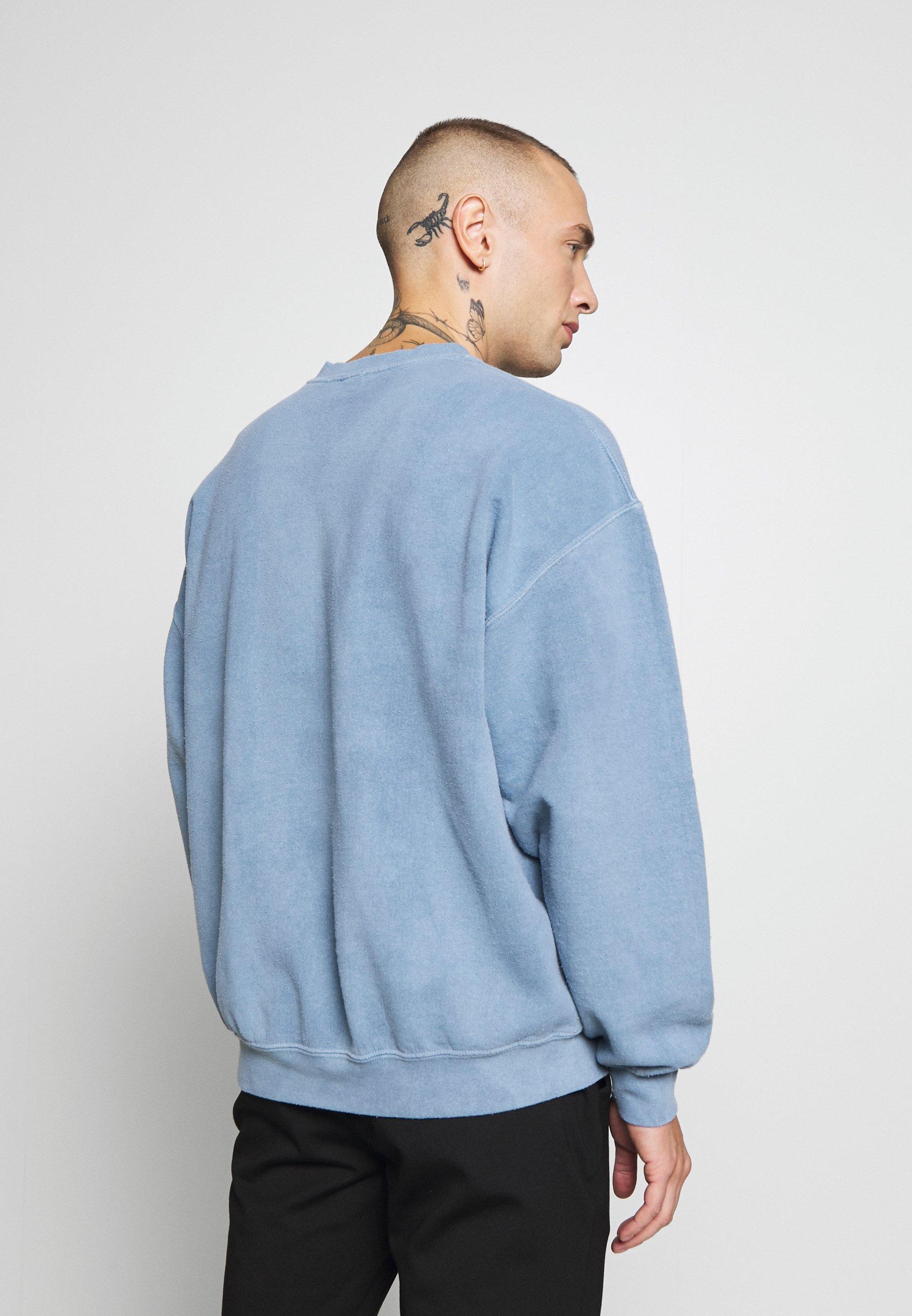 MONTREAL PUFF PRINT Sweatshirt blue