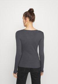 Zign - Long sleeved top - mottled grey - 2
