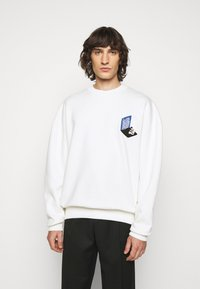 Henrik Vibskov - MAN IN BATHROOM  - Sweatshirt - white / multi-coloured - 0