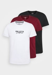 Hollister Co. - 3 PACK - Print T-shirt - white - 7