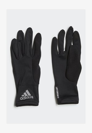 GLOVES A.RDY - Rukavice - black/black/refsil