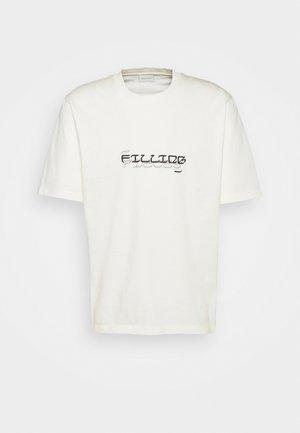 TEE GARDEN UNISEX - T-shirt con stampa - off white