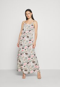 ONLY - ONLNOVA LIFE DRESS - Maxi dress - cloud dancer/botanic - 1