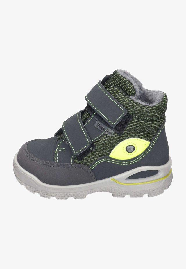 Baby shoes - grigio/oliv