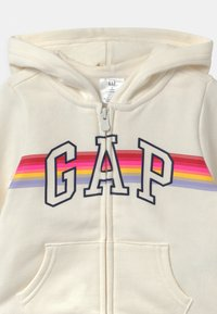 GAP - TODDLER GIRL LOGO - Hoodie met rits - dream milk - 2