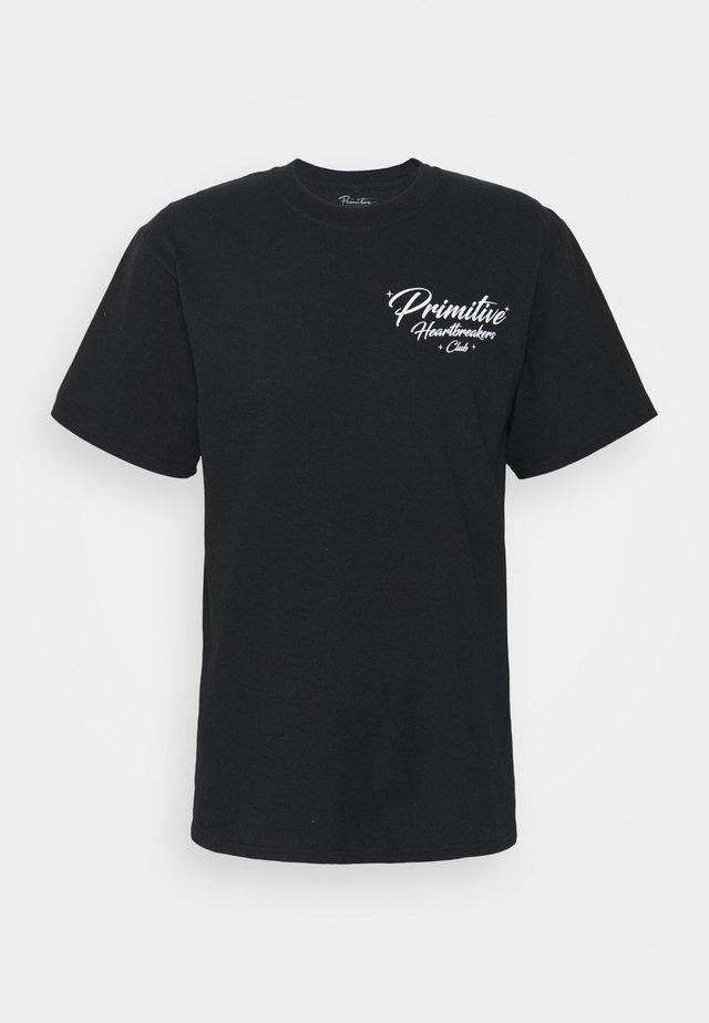 ANGELS TEE - T-shirt print - black