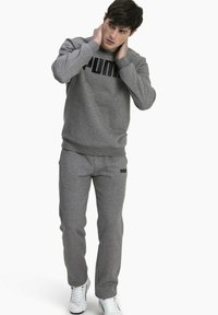 Puma - Sweatshirt - medium gray heather - 1