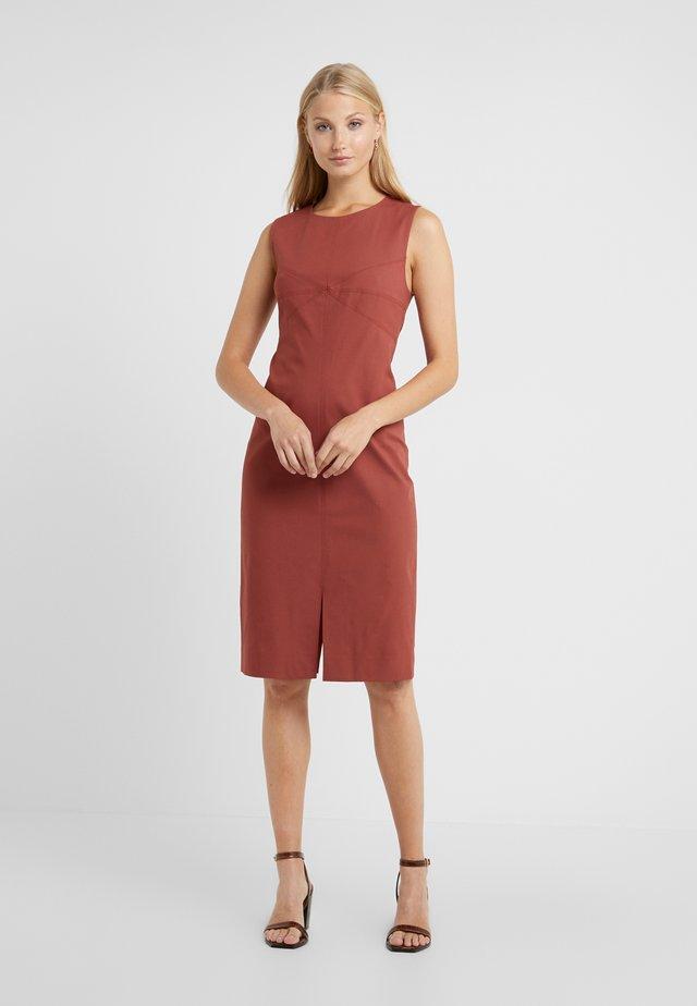 ELIO - Shift dress - jam