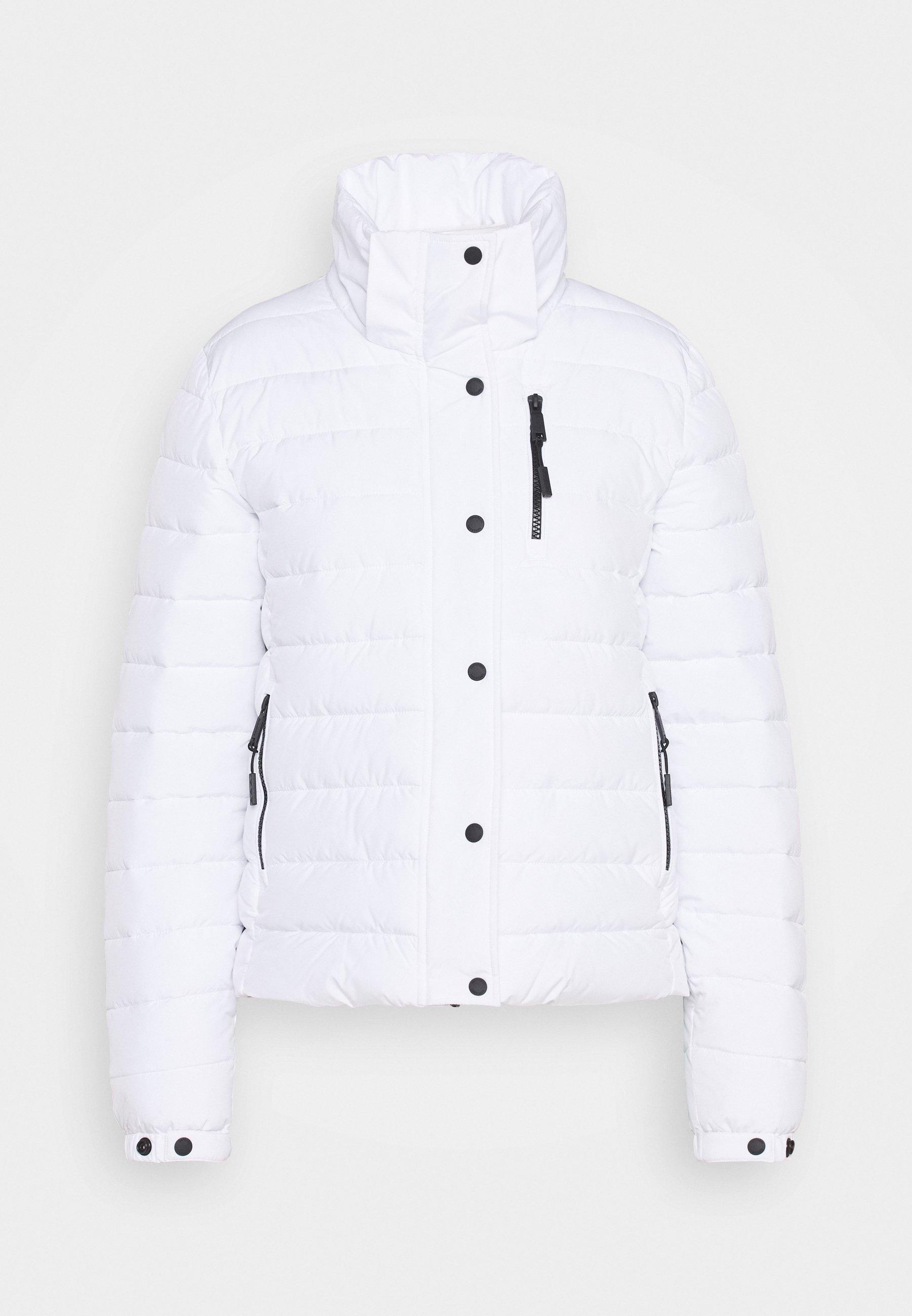 Superdry CLASSIC FUJI JACKET - Veste d'hiver - white - Manteaux Femme xUoqW
