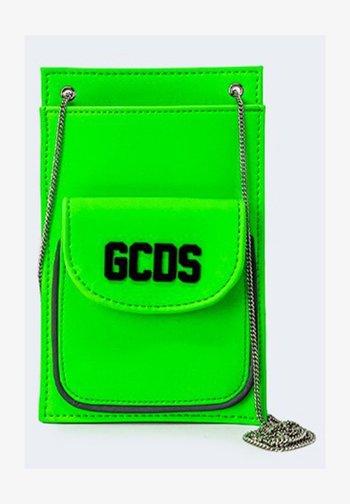LOGO - Across body bag - green