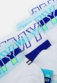 Tommy Hilfiger - KIDS QUARTER WORDING 4 PACK UNISEX - Socks - blue combo - 1