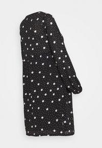 New Look Maternity - TIERED SMOCK DRESS - Sukienka z dżerseju - black - 1