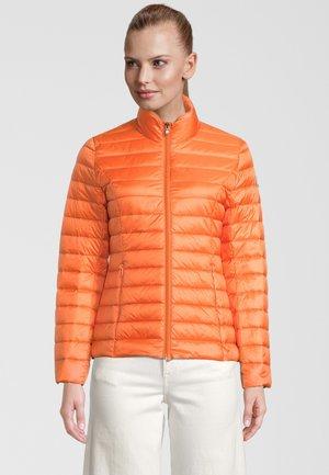 Gewatteerde jas - orange