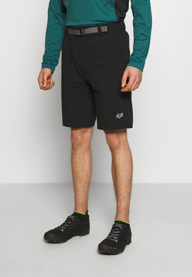 TETON SHORT - Sports shorts - black