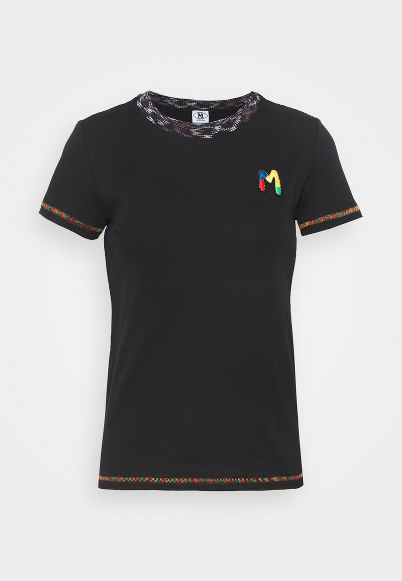M Missoni - T-shirt print - black