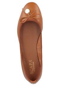 Scapa - Ballet pumps - cognac - 3