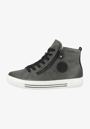 High-top trainers - grey (d0972-45)