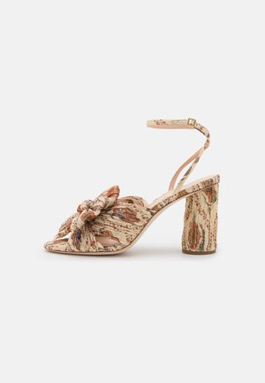 CAMELLIA - Sandaalit nilkkaremmillä - ivory