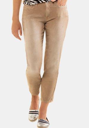 Slim fit jeans - zimt