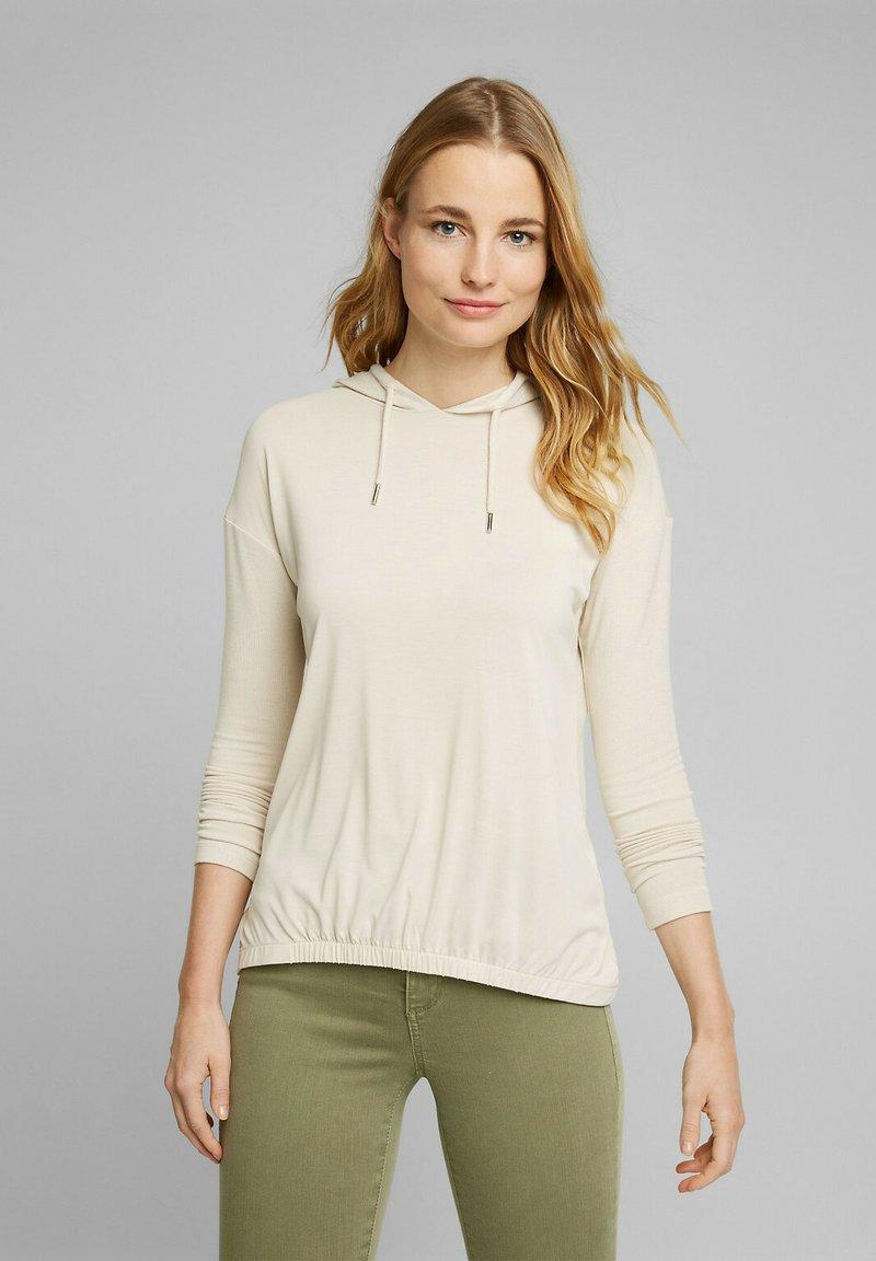 Esprit - FASHION - Long sleeved top - cream beige