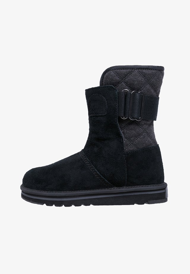 NEWBIE - Snowboot/Winterstiefel - black