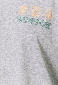 Burton - CARATUNK RAGLAN - Long sleeved top - GREY HEATHER/ ANTQGN - 2