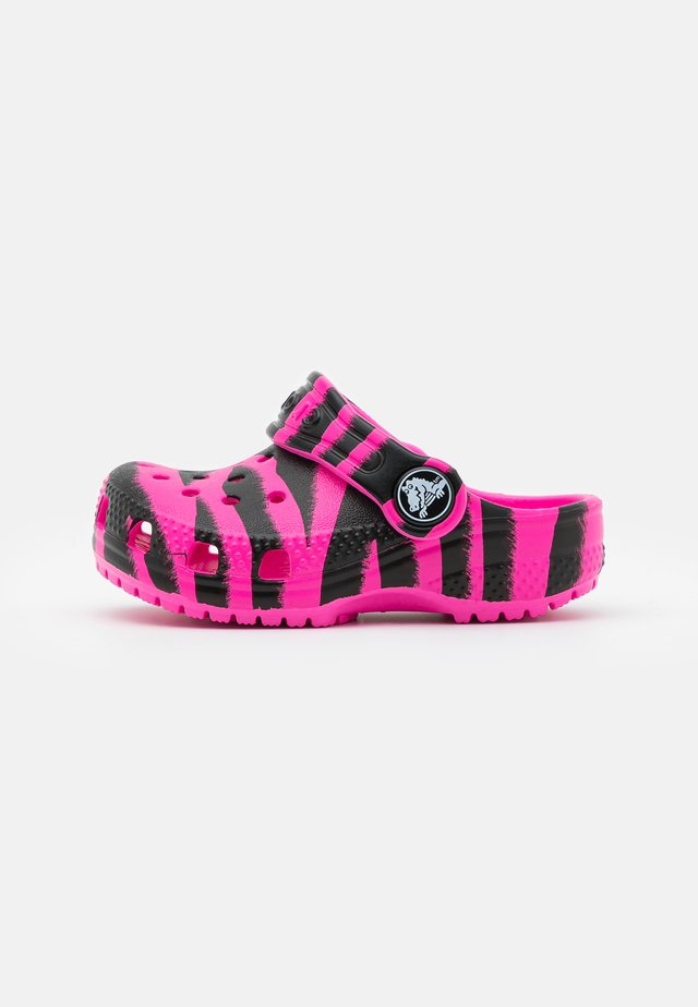 CLASSIC OUT OF THIS WORLD  - Pool slides - electric pink/black
