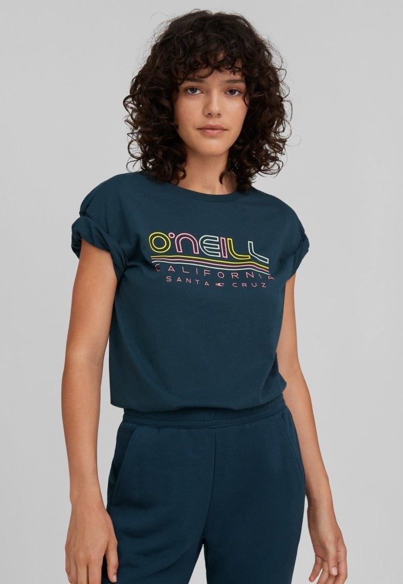 Damen TEES ALL YEAR SS T-SHIRT - T-Shirt print