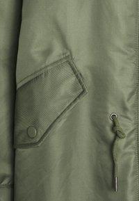 American Vintage - AKOCITY - Parka - mottled green - 3
