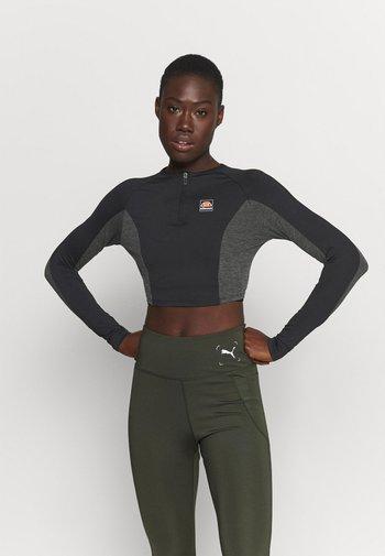 GLORA - Long sleeved top - black